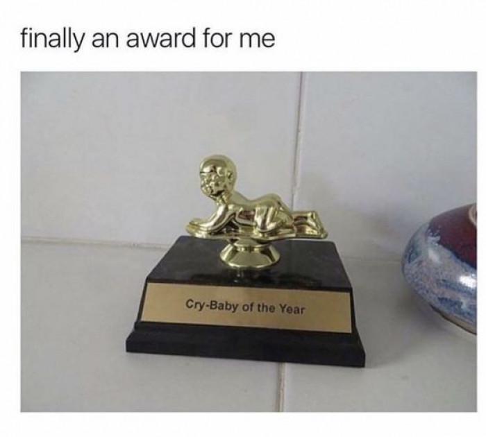 Finally An Award For Me