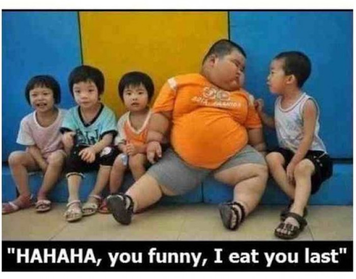 Haha I Eat You Last