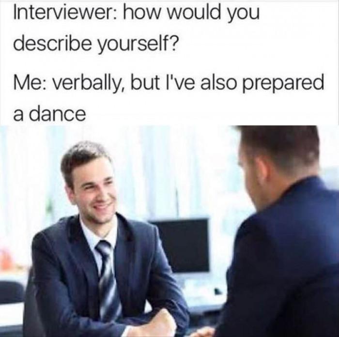 I've Also Prepared A Dance