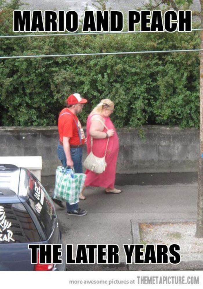 Real Life Mario And Peach
