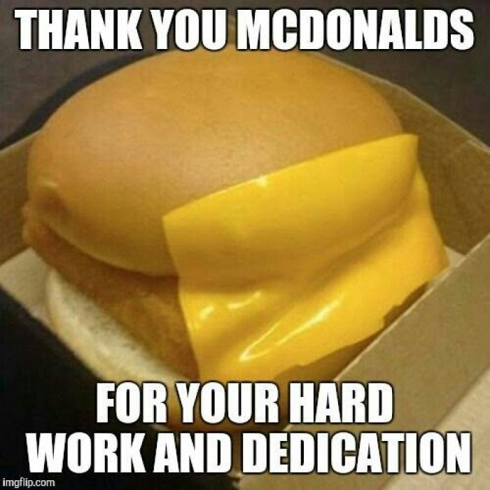 Thank You McDonalds