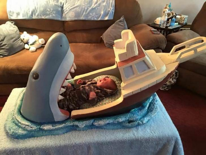 Baby Bed Inspired By Jaws
