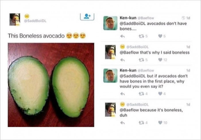Boneless Avocado