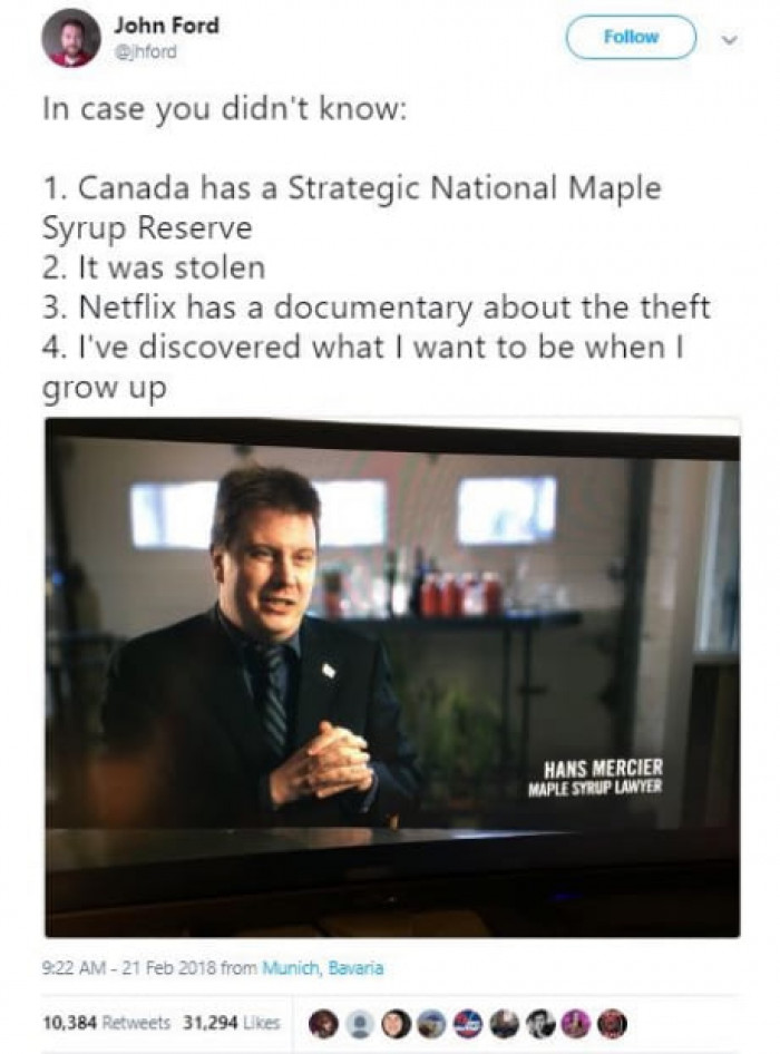 Canada Is Made Up