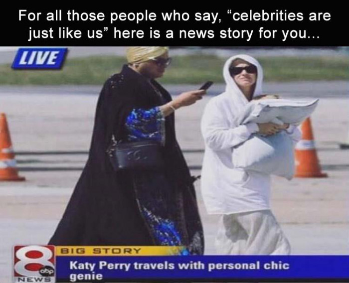 Celebrities Are Just Like Us