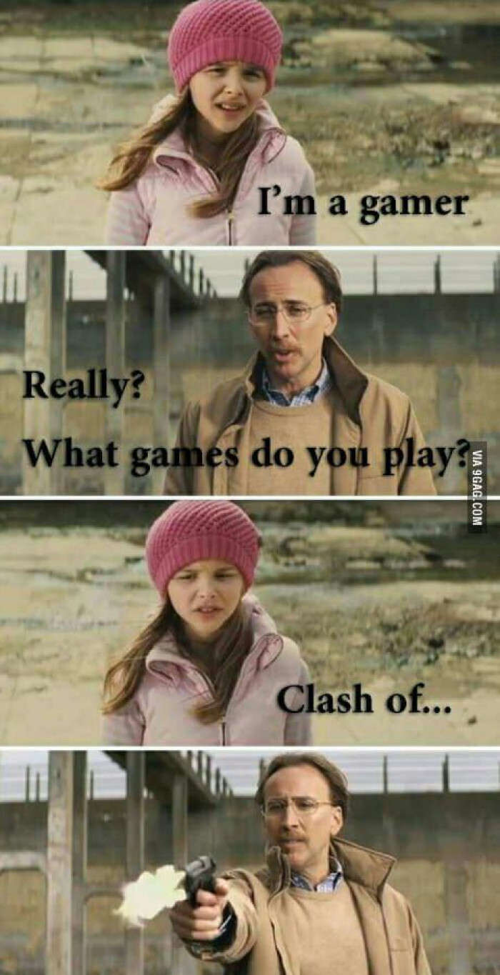 Clash Of Clans, Really?