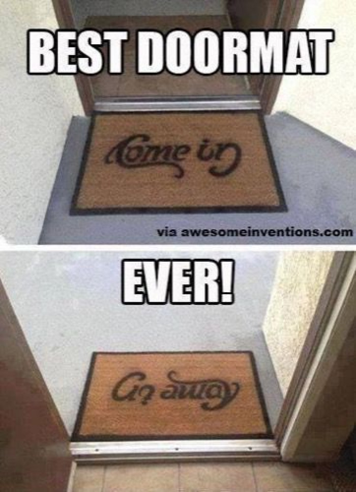 Coolest Doormat Ever