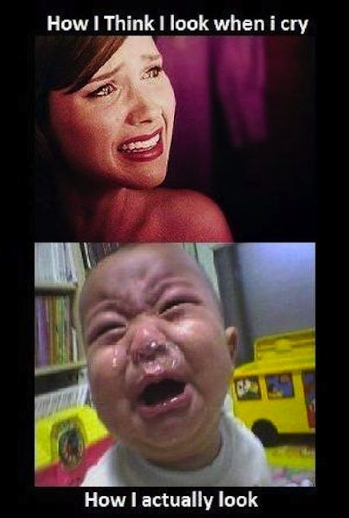 How I Think I Look When I Cry
