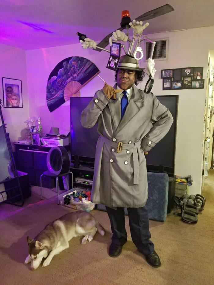 Inspector Gadget Cosplay