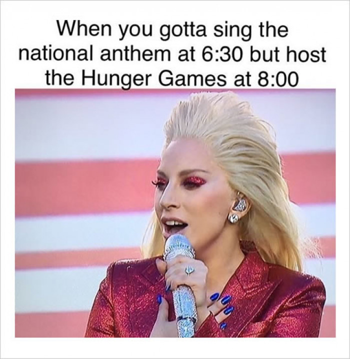 National Anthem Vs Hunger Games