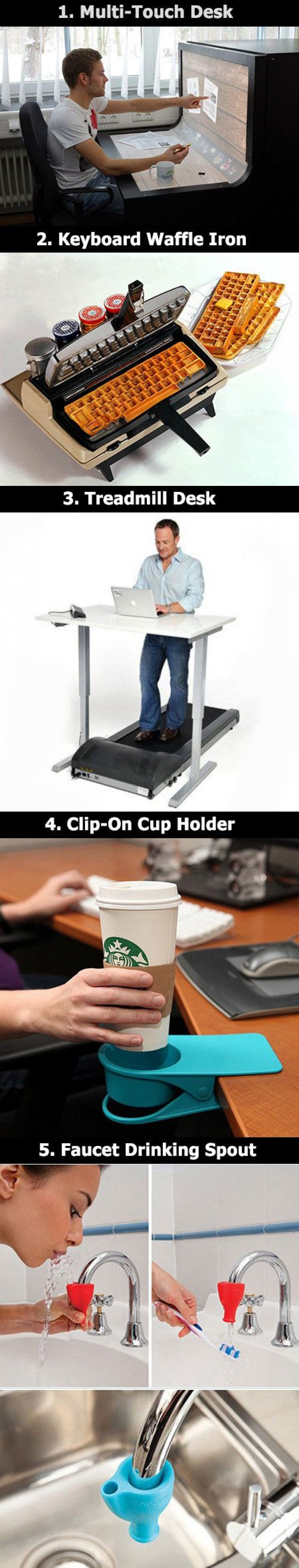 Some Creative Inventions