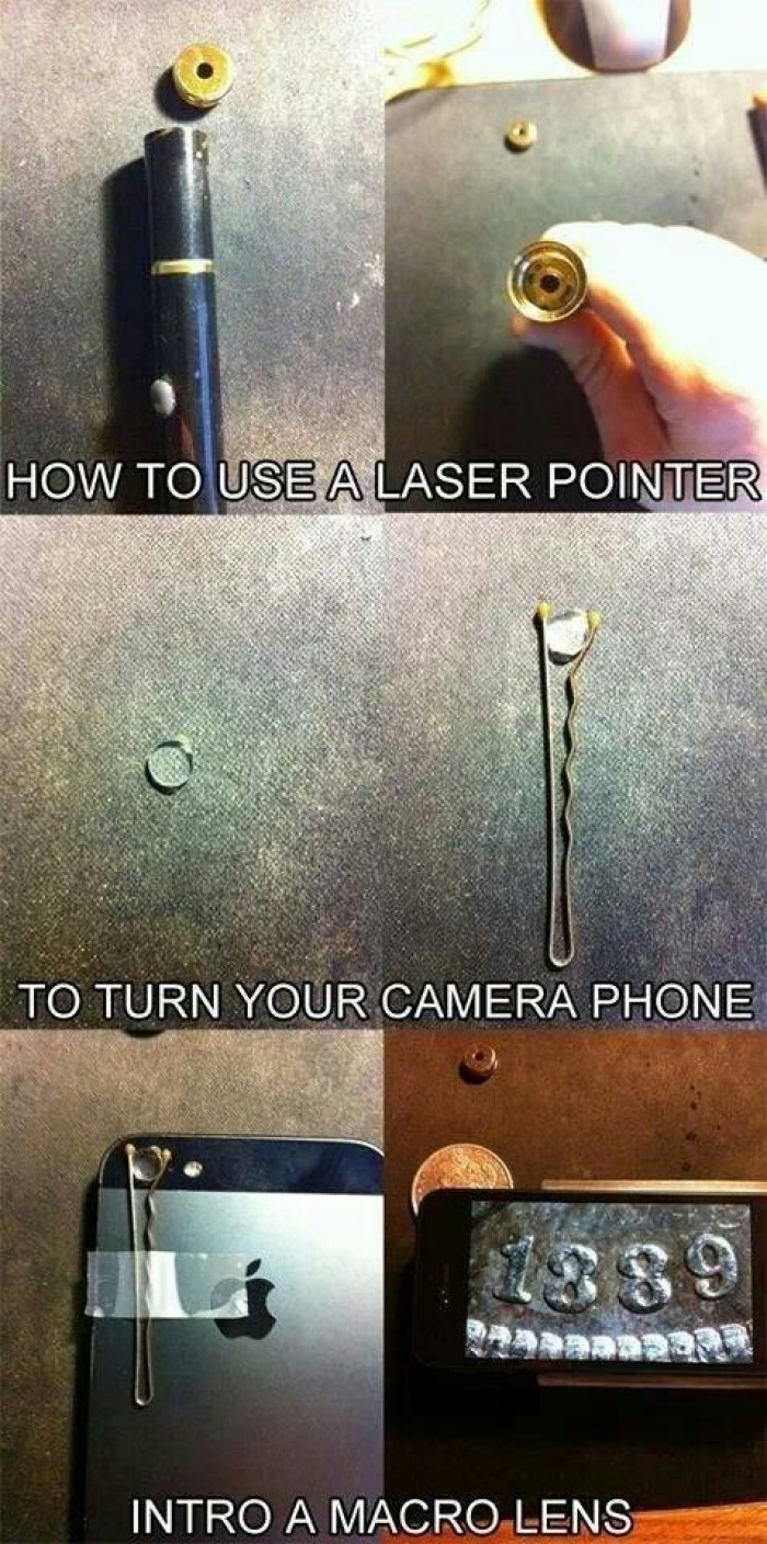 Turn Your iPhone Camera Into A Micro Lens