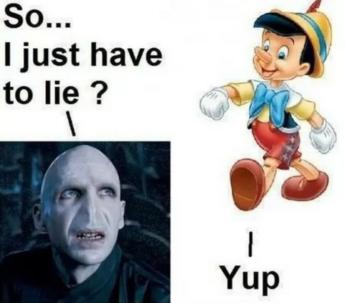 Voldemort Wants a Nose