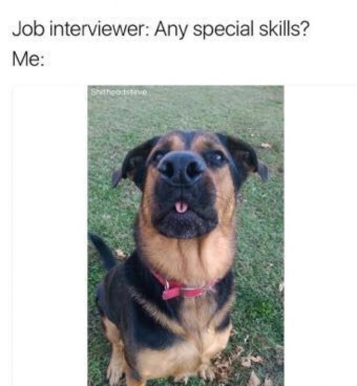 Any Special Skills?