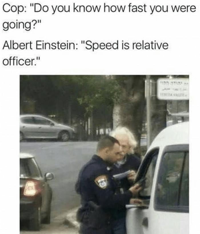 Albert Einstein Drives
