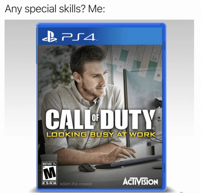 Any Special Skills