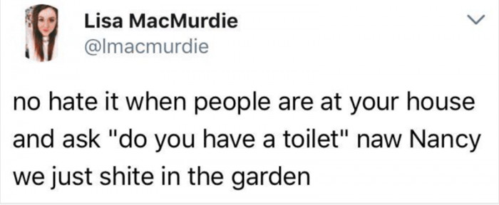 Do You Have A Toilet