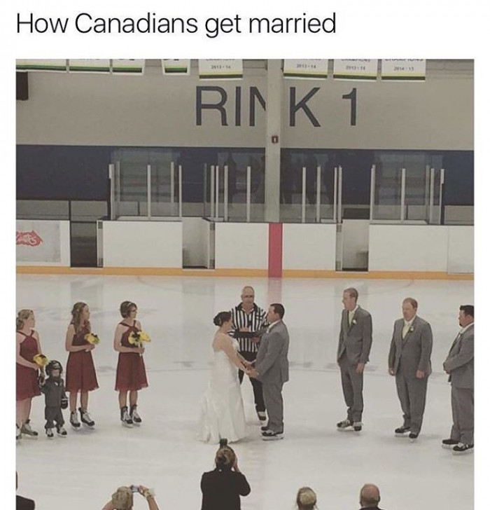 How Canadians Get Married