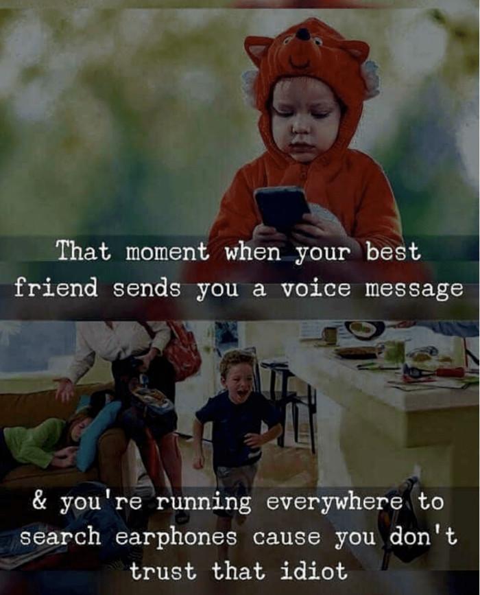 I Got A Voice Text