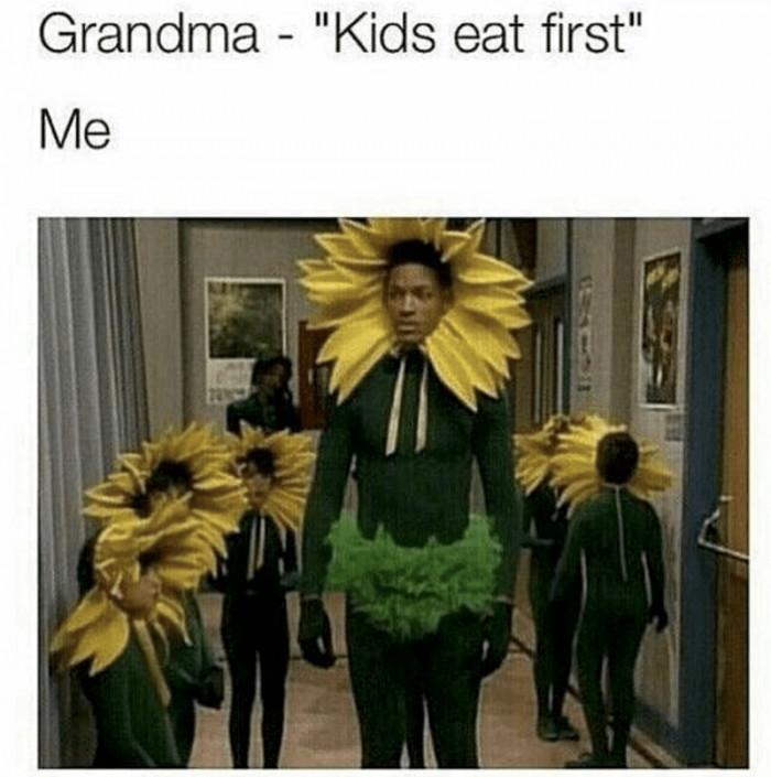 Kids Eat First