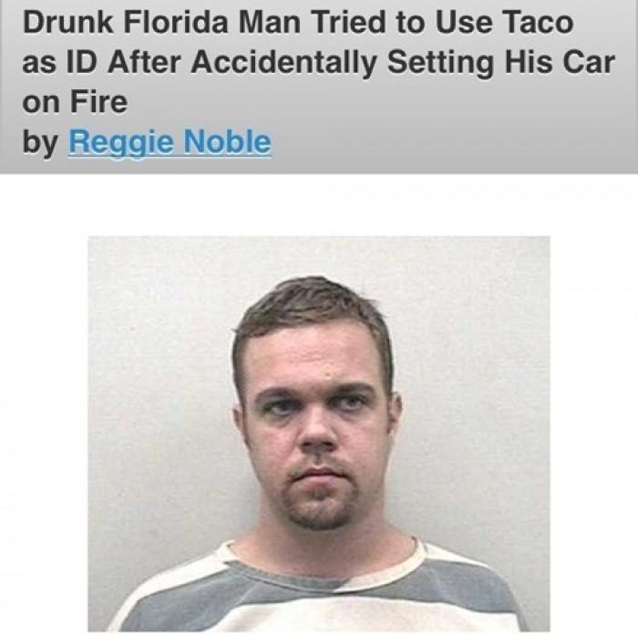 Looks Like He Forgot To Renew His Taco