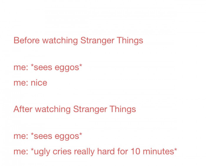 My Truth About Eggos