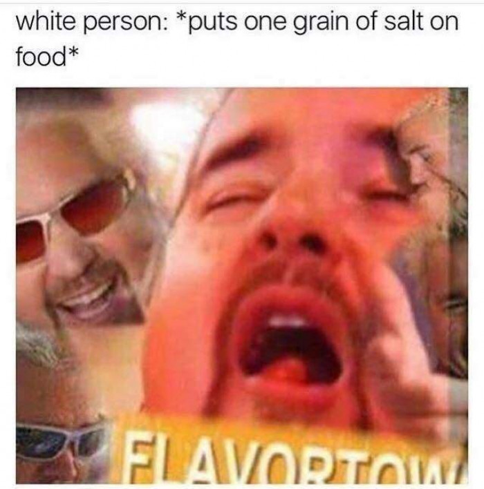 One Grain Of Salt Effect