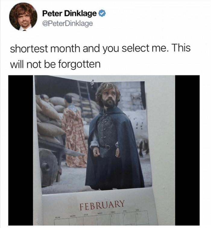 Shortest Month In The Calendar