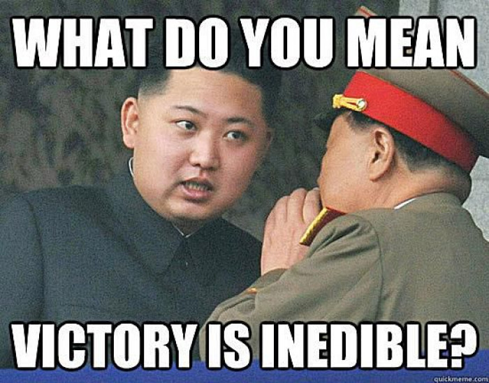 Victory Is Inedible?