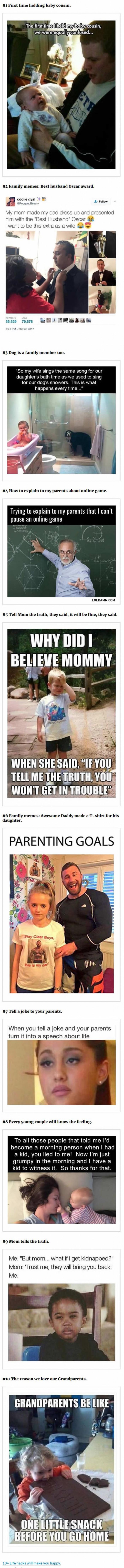 10 Fresh Family Memes