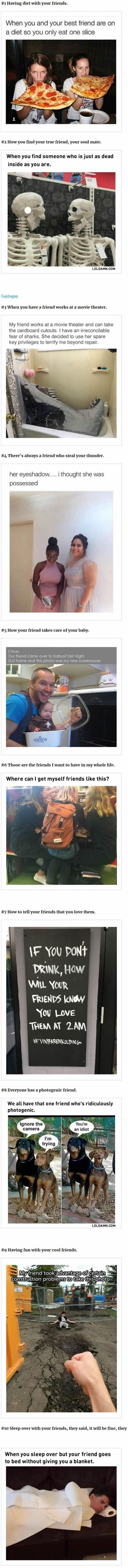 10 Fresh Friend Memes