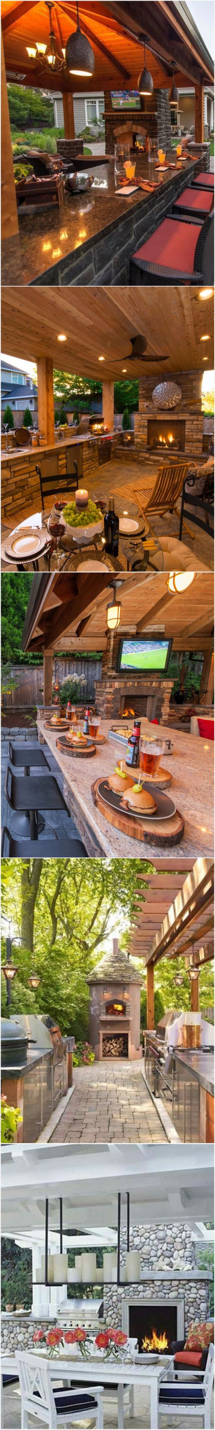 5 Gorgeous Outdoor Living Spaces