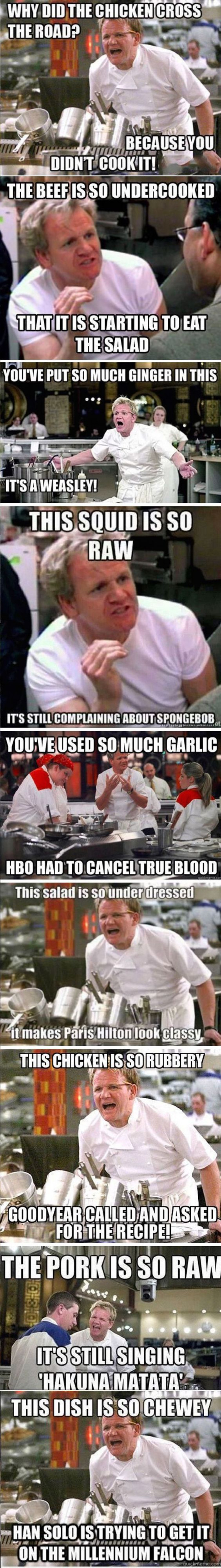9 Of The Best Gordon Ramsey Insults Guaranteed To Make You Laugh