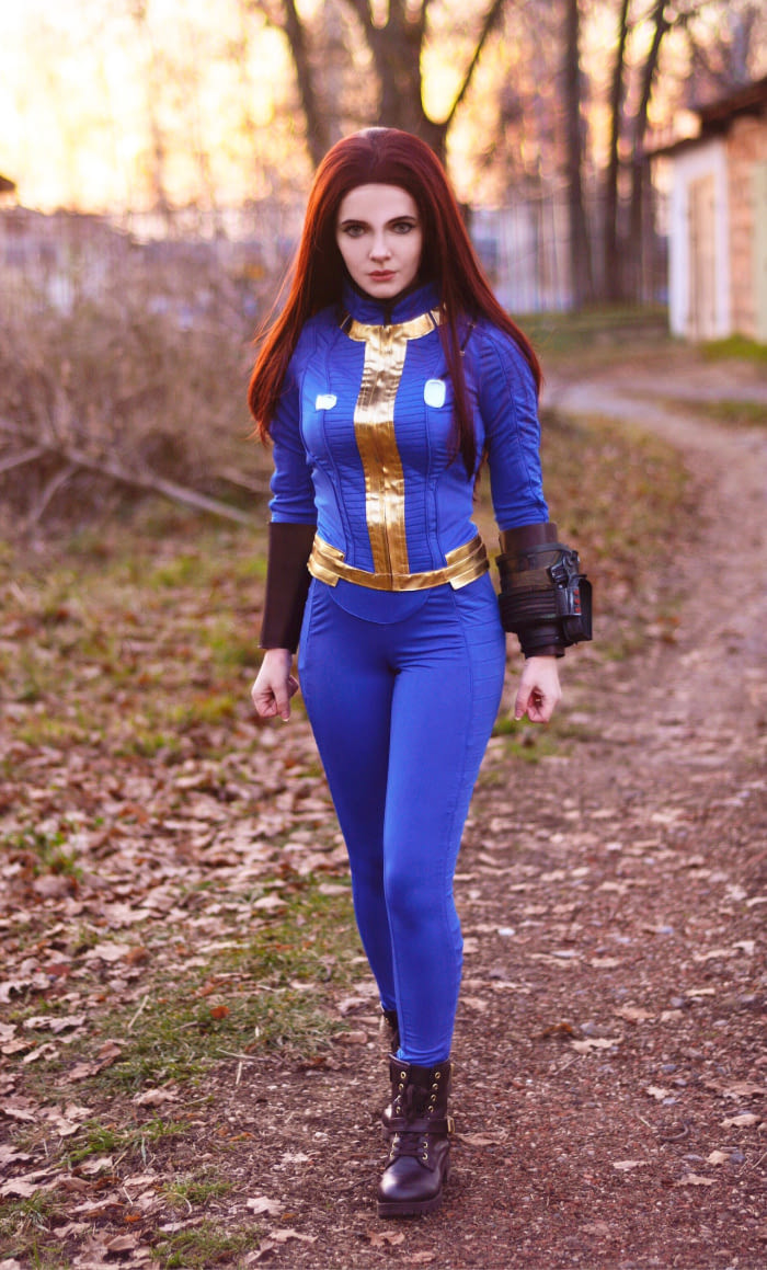 Fallout Cosplay By Irina Sabetskaya