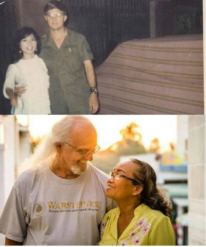 I Want A Relationship As Strong As They Do Ps: They Broke Up By The Vietnam War After A Long Time The Man Finally Came Back And Found His Beloved