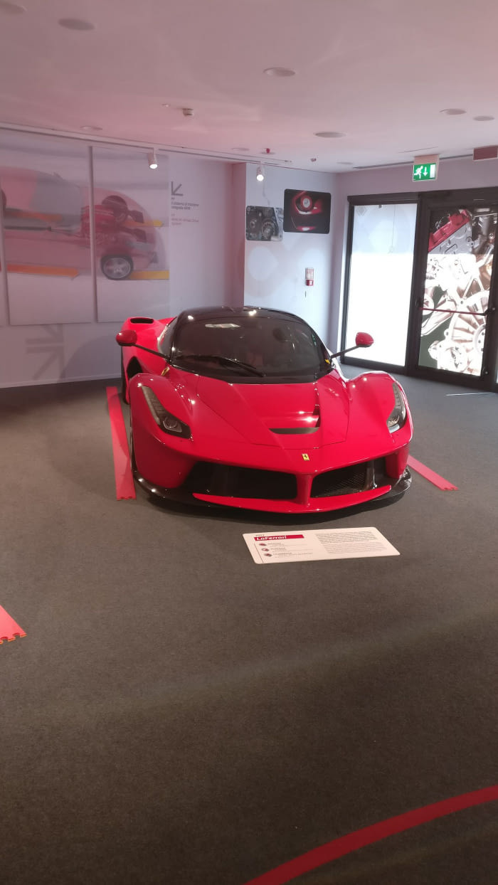 Laferrari At Ferrari Museum