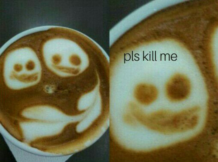 When You Try To Be Good Barista, But Memes Never Leaves You