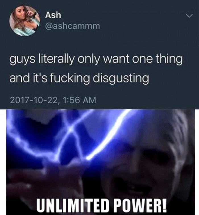 Guys Want One Thing And One Thing Only