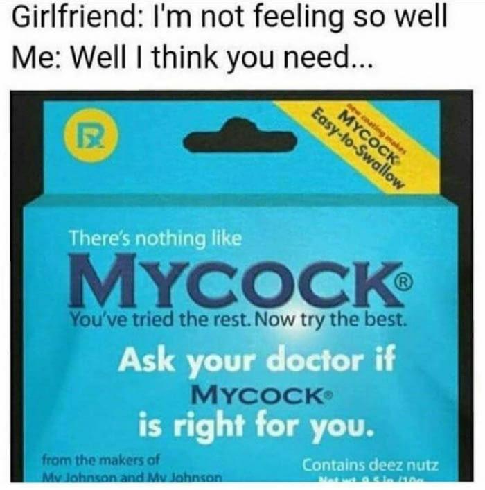 When Your Girlfriend Isn't Feeling Well