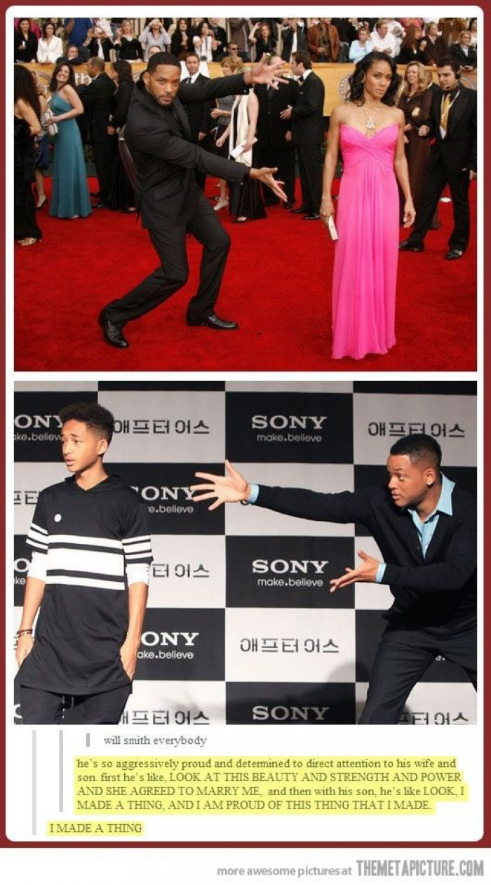 Will Smith Made A Thing