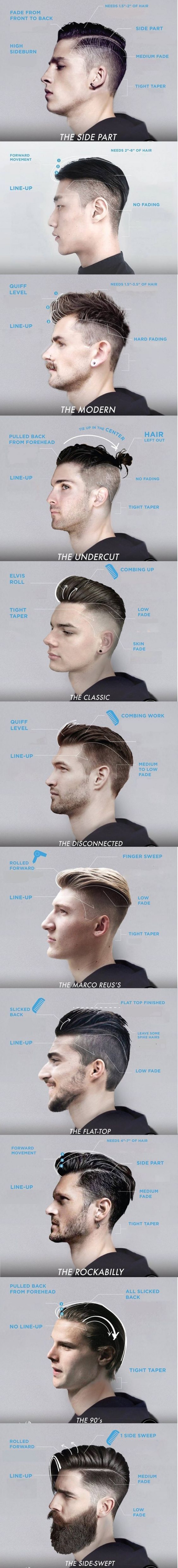8 Hair Styles To Make You Look Cooler