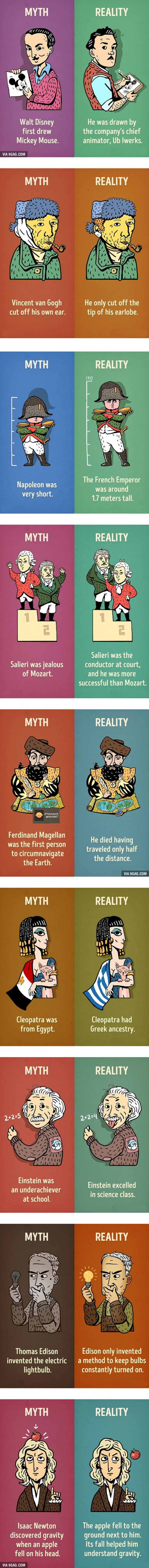 9 Historical Myths We Need To Stop Believing Right Now