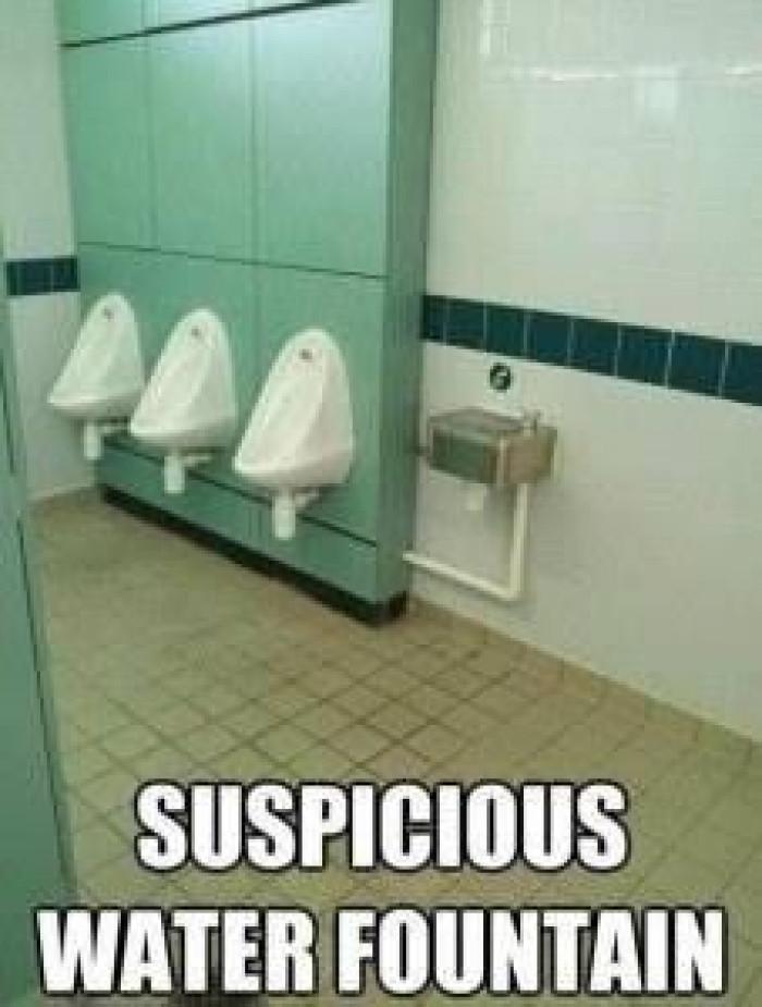 A little suspicious