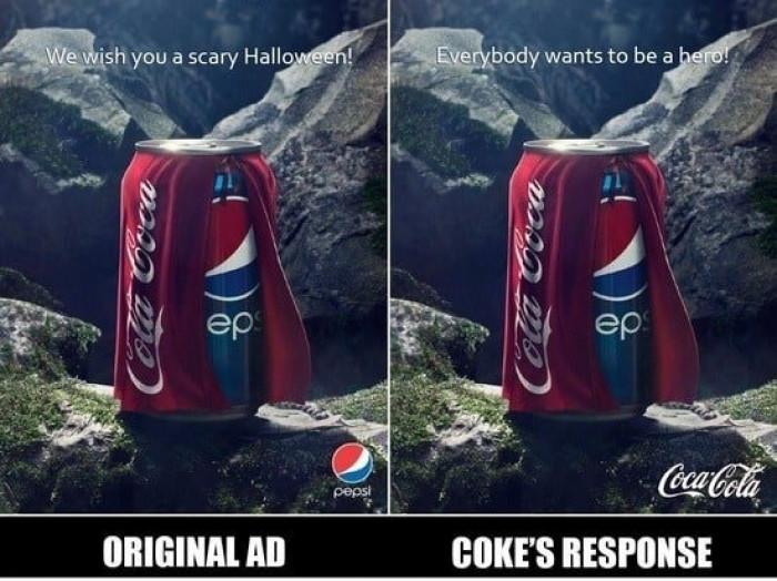 Brilliant Response By Coke!