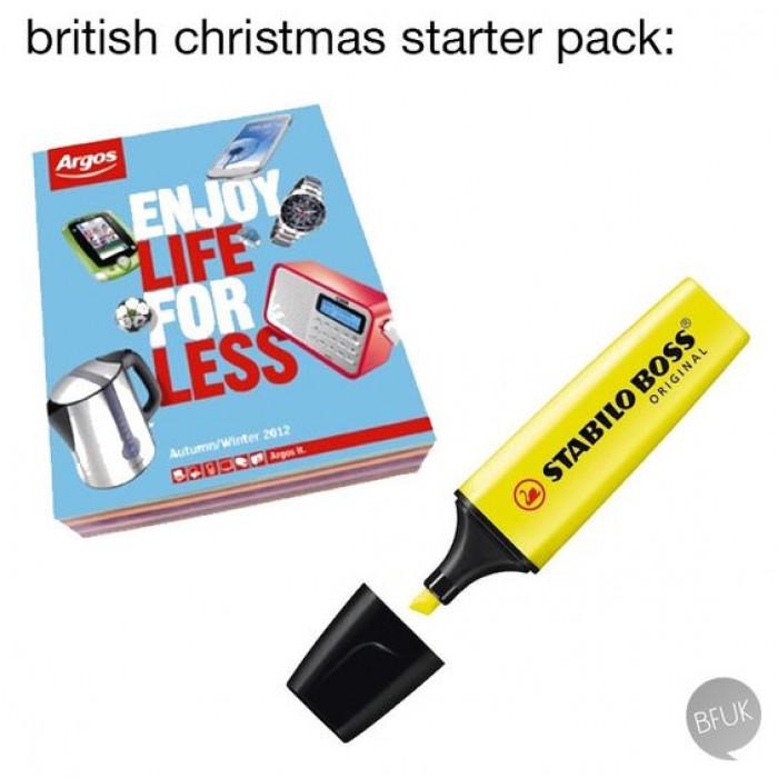 British Christmas Starter Pack