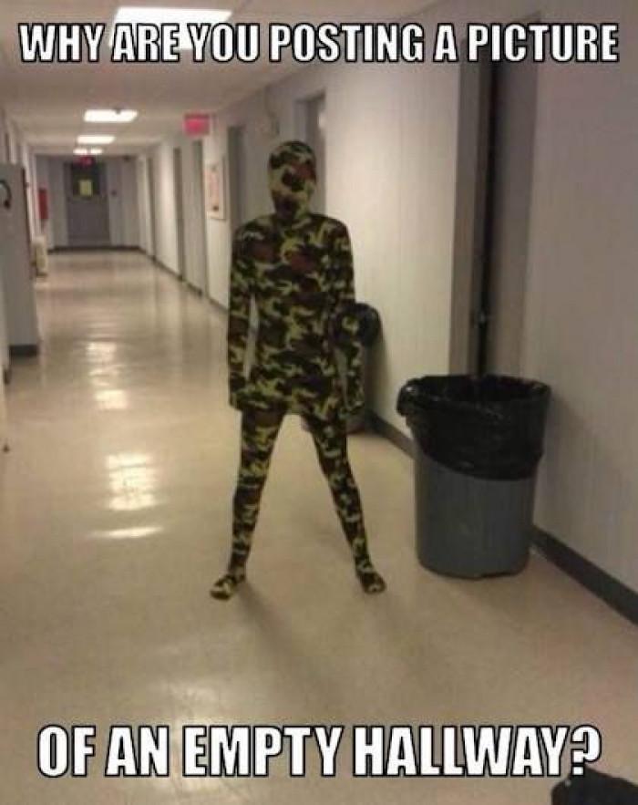 Camouflage level on 100