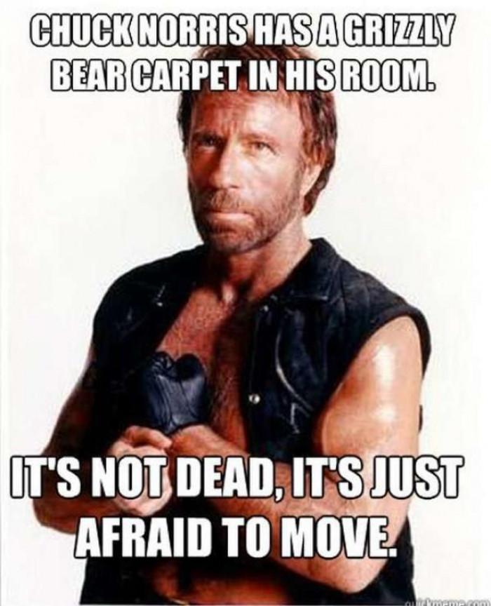 Chuck Norris Be Like