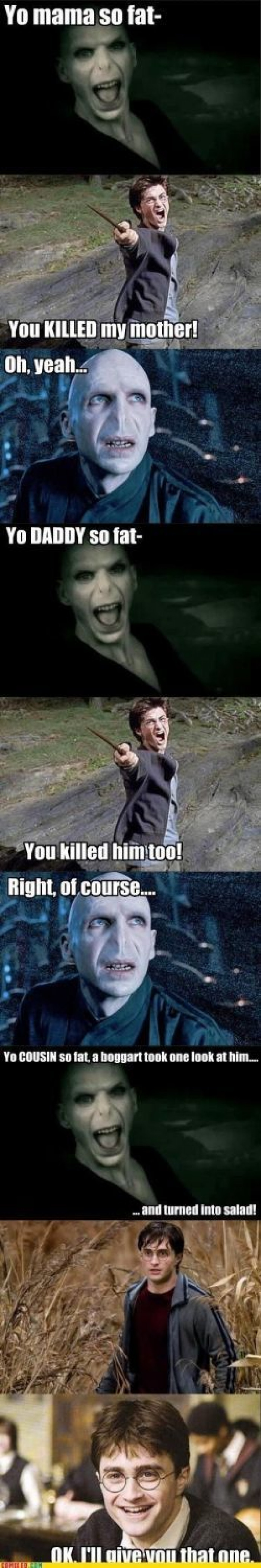 Collection Of Harry Porter Memes