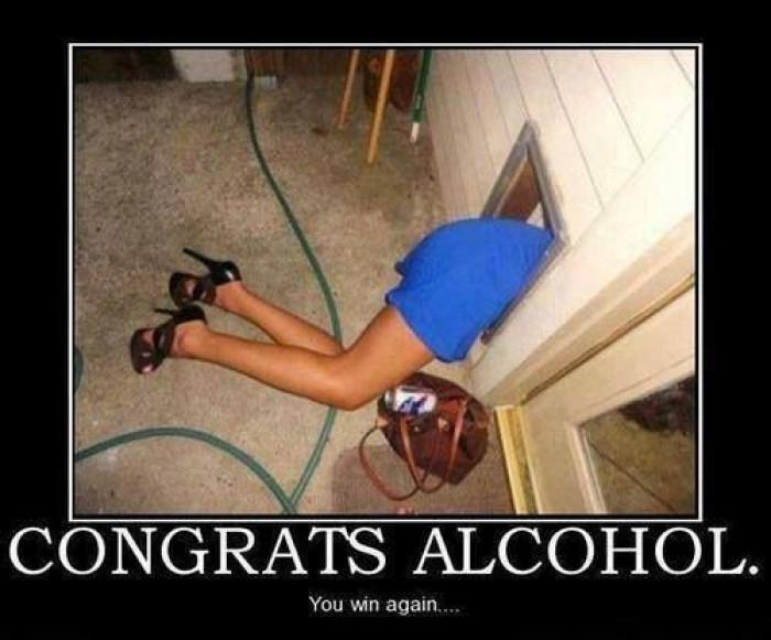 Congrats alcohol
