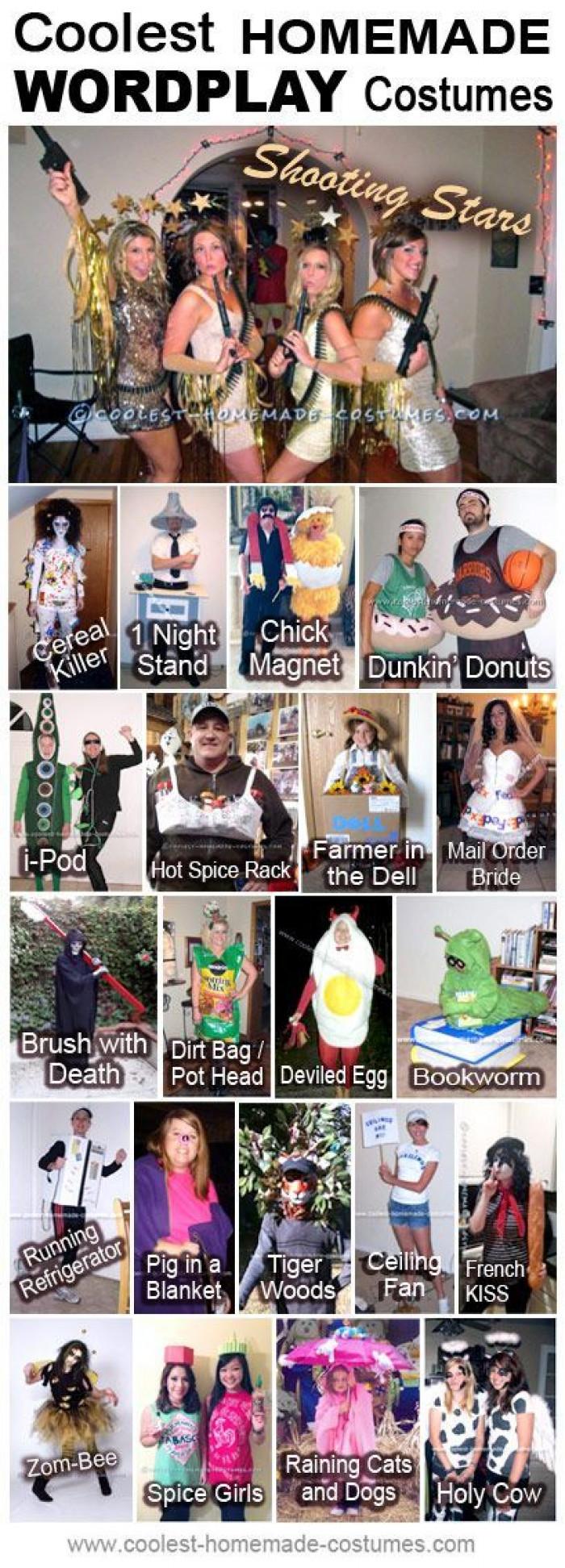 Coolest Homemade Wordplay Costumes